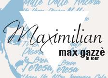 Max Gazzè tshirt design