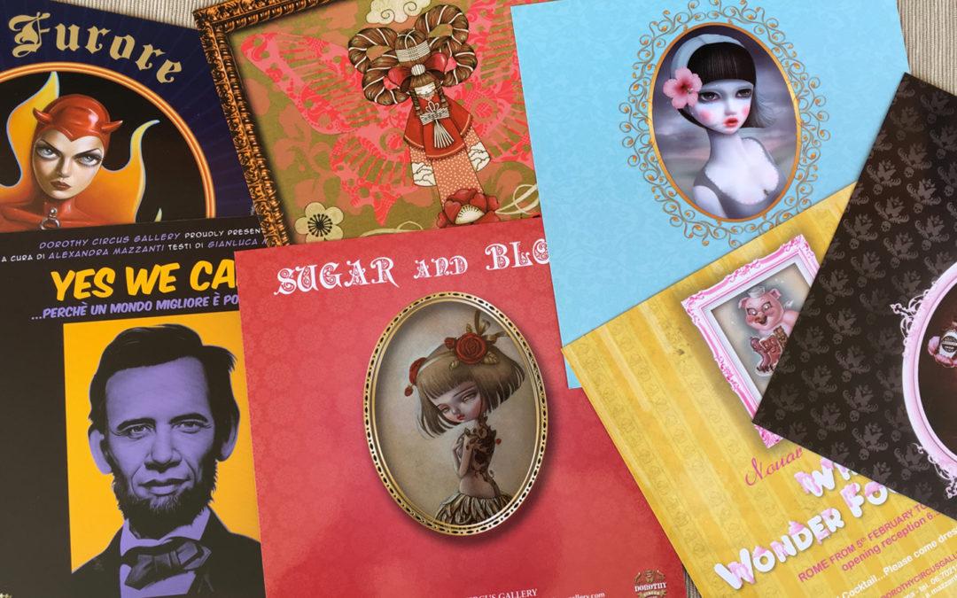 Inviti Opening Dorothy Circus Gallery